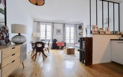 Appartement T3 Paris 10eme Hauteville