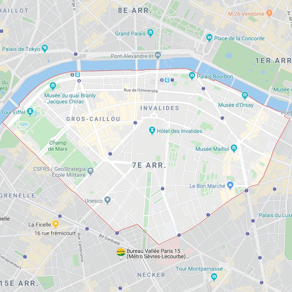 Estimation immobilière Paris 7e