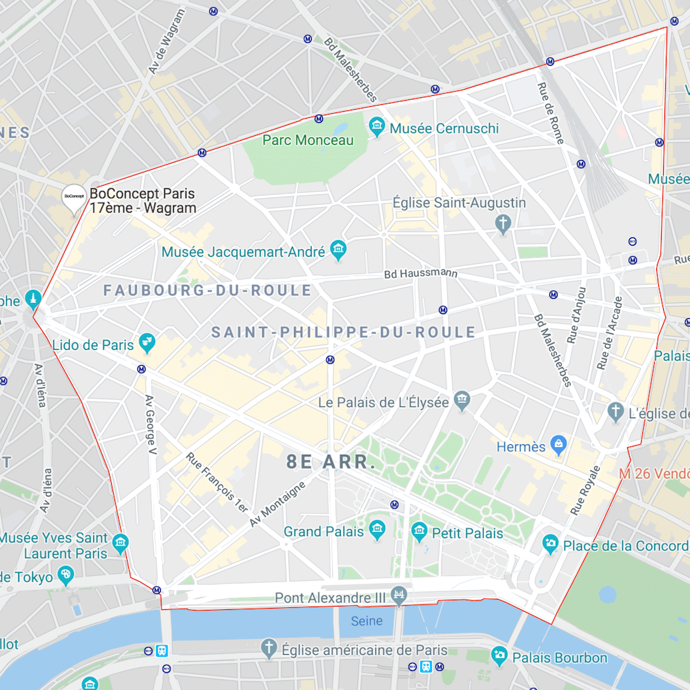 Estimer Appartement Paris 8e