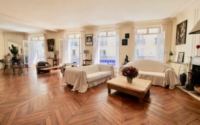 Appartement T4/6 Paris 17 Courcelles